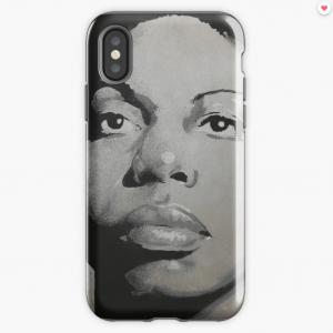 Nina Simone – Lady Jazz – Music and Charisma iPhone Case & Cover